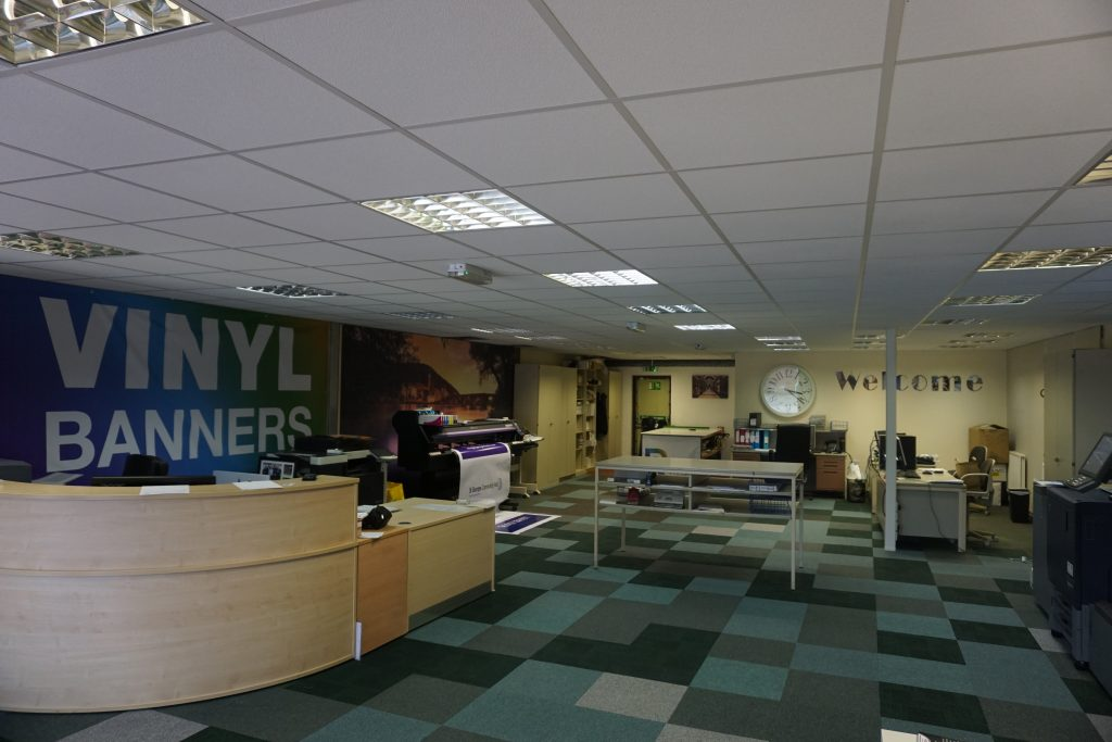 Russell Printers new premises