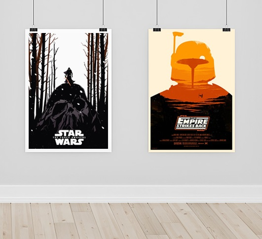 branding with posters